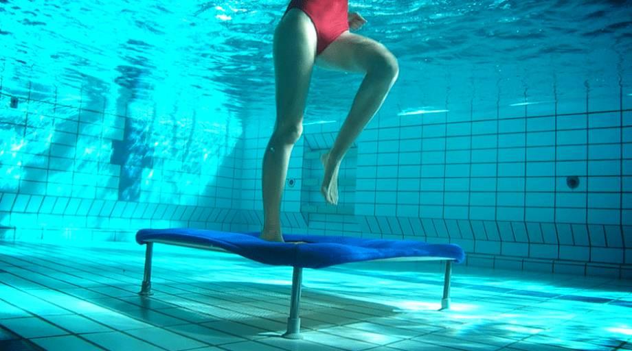Underwater Trampoline For Aqua Fitness Eurotramp Trampoline