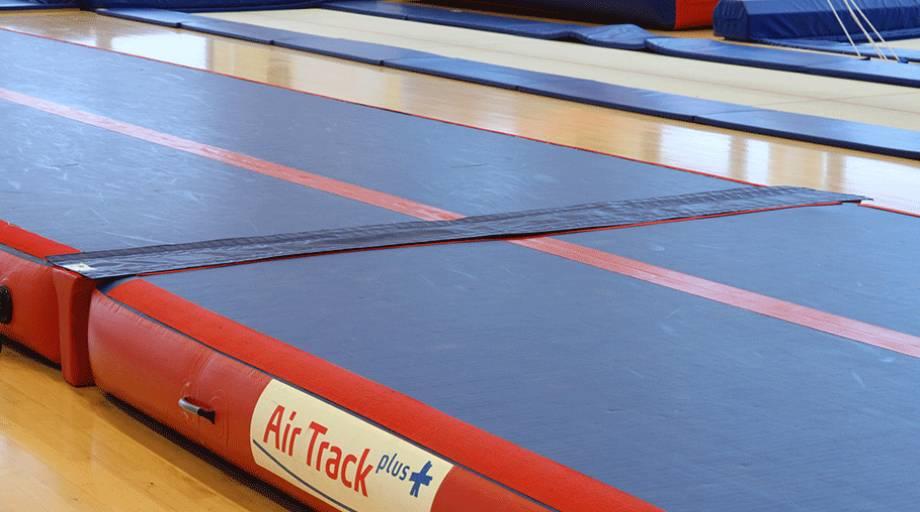 Trampoline Track Quot Air Track Plus Quot Eurotramp Trampoline