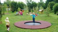 Wehrfritz Ground Trampoline round