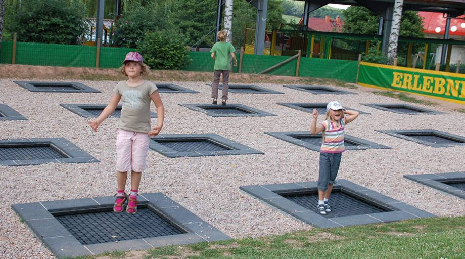 Kids Tramp Quot Playground Quot Eurotramp Trampoline