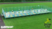 "Trampoline set ""Stationary"" with 26 fields from Eurotramp"