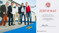 Eurotramp received an education certificate for very high-quality apprenticeship from the German employment agency