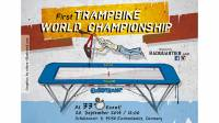 Event poster of first Trampbike World Championship on a Eurotramp trampoline