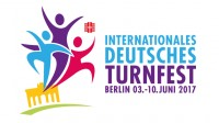 Logo of trampoline event Internationales Deutsches Turnfest 2017 in Berlin