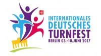Logo of trampoline event Internationales Deutsches Turnfest 2017 in Berlin