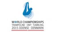 Event logo of the 31st Trampoline World Championships 2015 in Denmark
