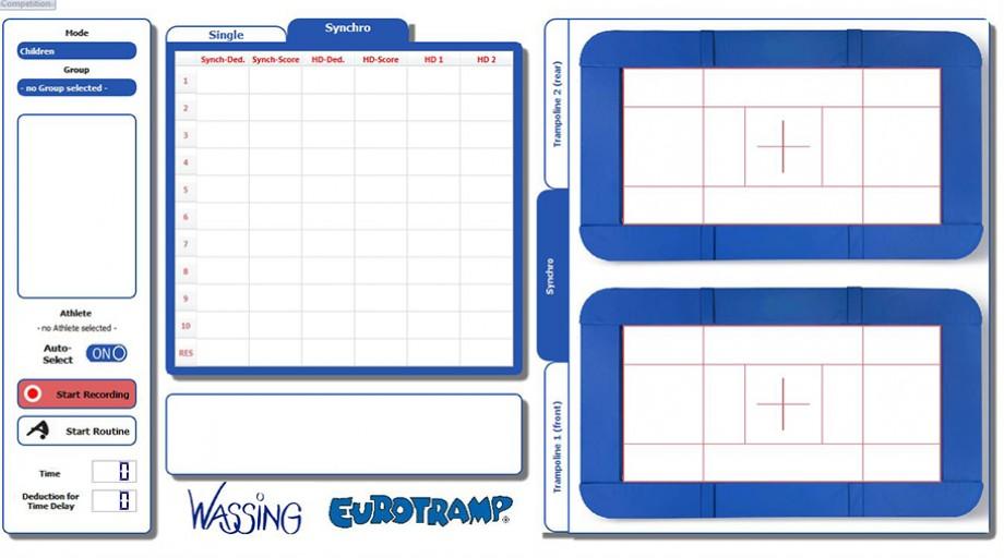 Hdts Trampoline Measurement System Eurotramp Trampoline