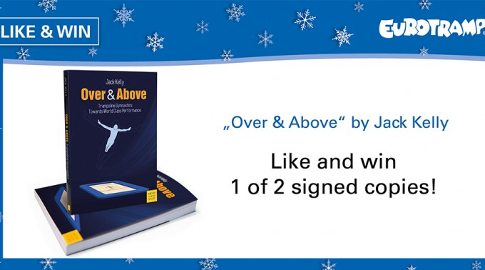 "Like and win 1 of 2 signed copies of ""Over & Above"" by Jack Kelly"