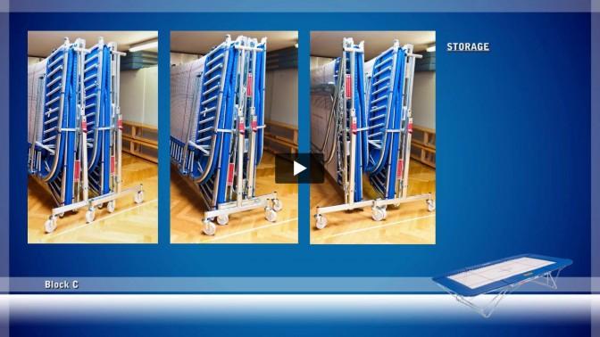 Montagem, desmontagem e armazenamento