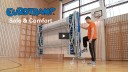 """Product Presentation - Lifting Roller Stand """"Safe & Comfort"""" by Eurotramp"""