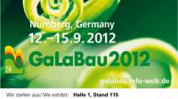 Trade mark of the trade fair GaLaBau 2012 in Nuremberg