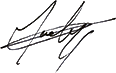 Signature of Georges Guelzec
