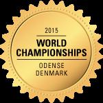 World Championships 2015 - Odense, Denmark